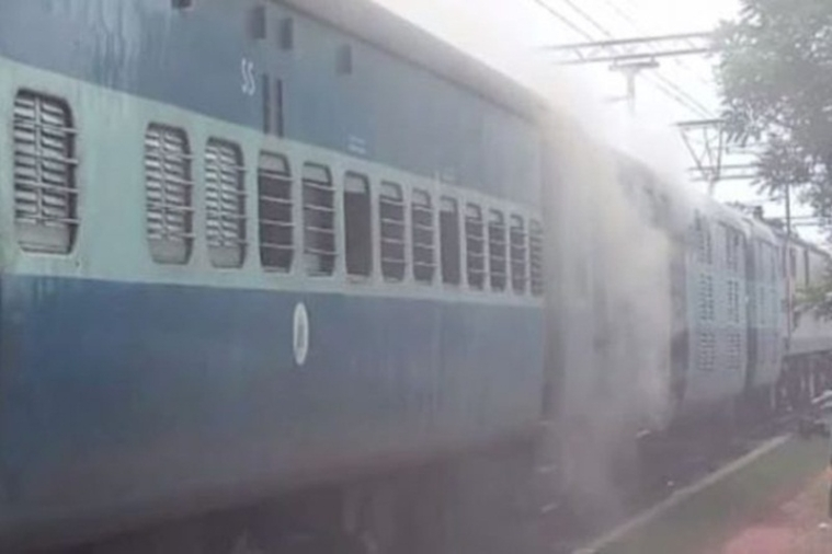 Fire breaks out in train in Odisha, passengers safe