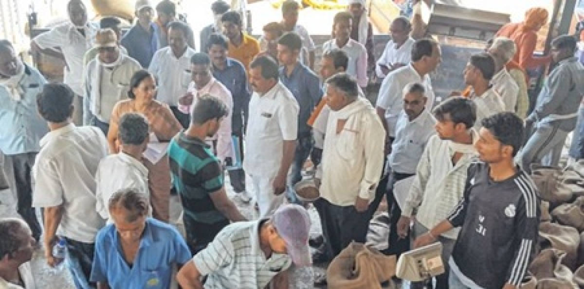 Ujjain: Crops procured on support price inspected