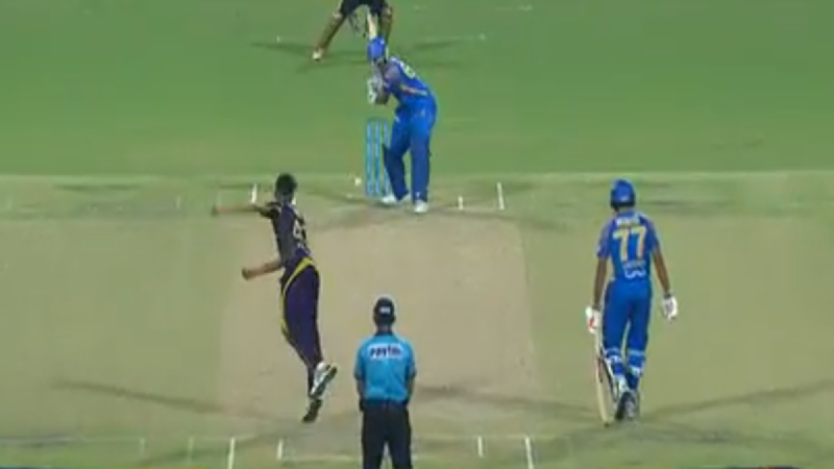IPL 2018: RR's Ish Sodhi gets out in bizarre fashion against KKR; Watch How