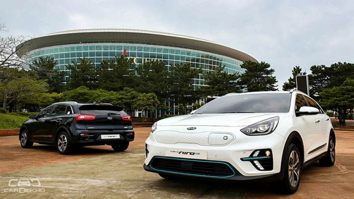 Kia Niro EV Revealed, Could Be India-Bound
