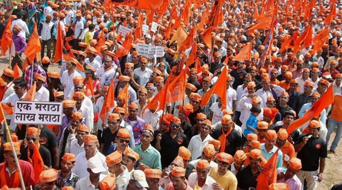 Maratha Quota Stir: Agitators protest peacefully at suburban collector's office