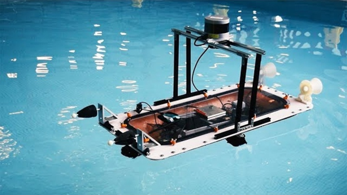 MIT scientists developed 3D printed, Driverless boat