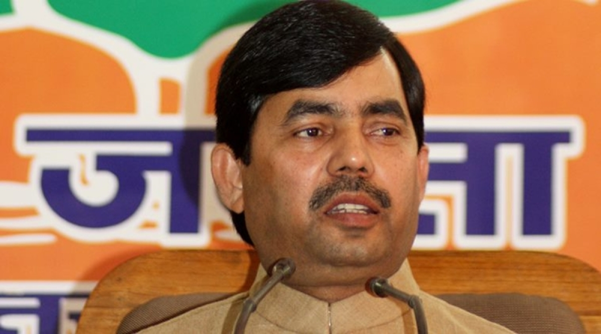 Centre following propriety on Ram temple issue: Shahnawaz Hussain