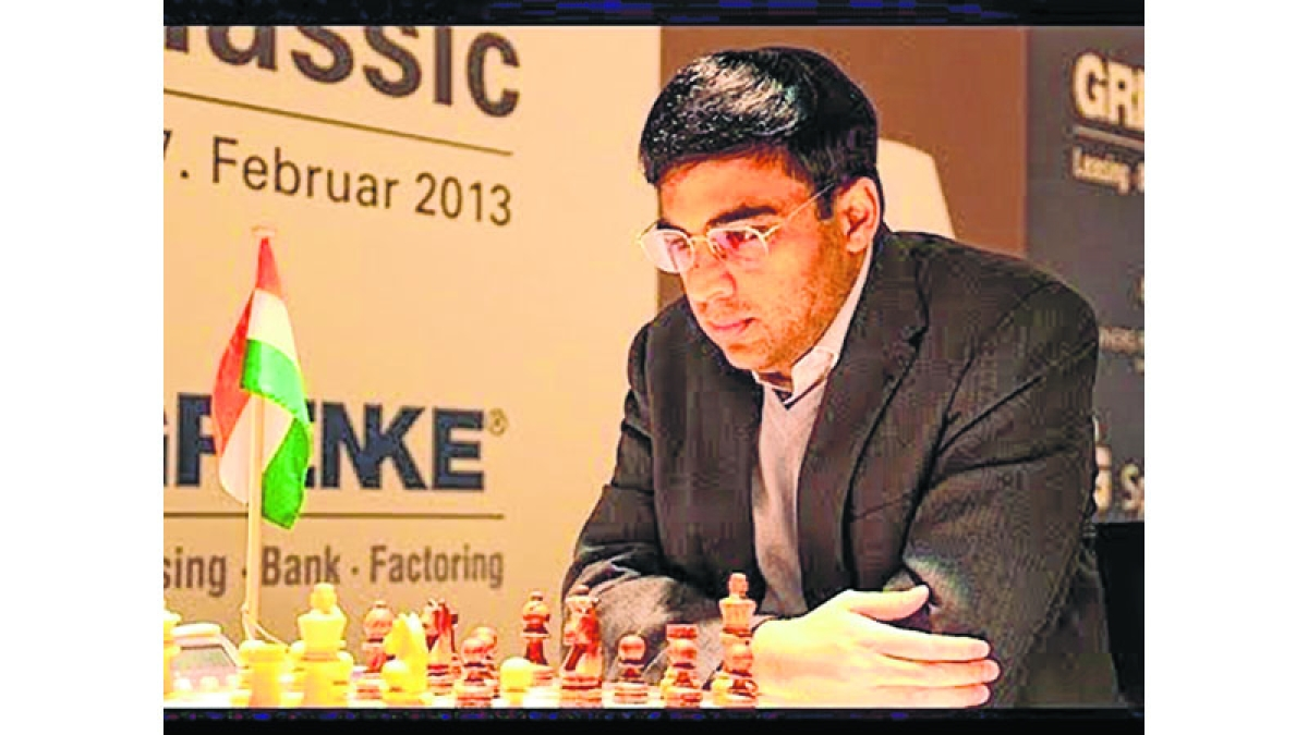 Anand settles for another draw