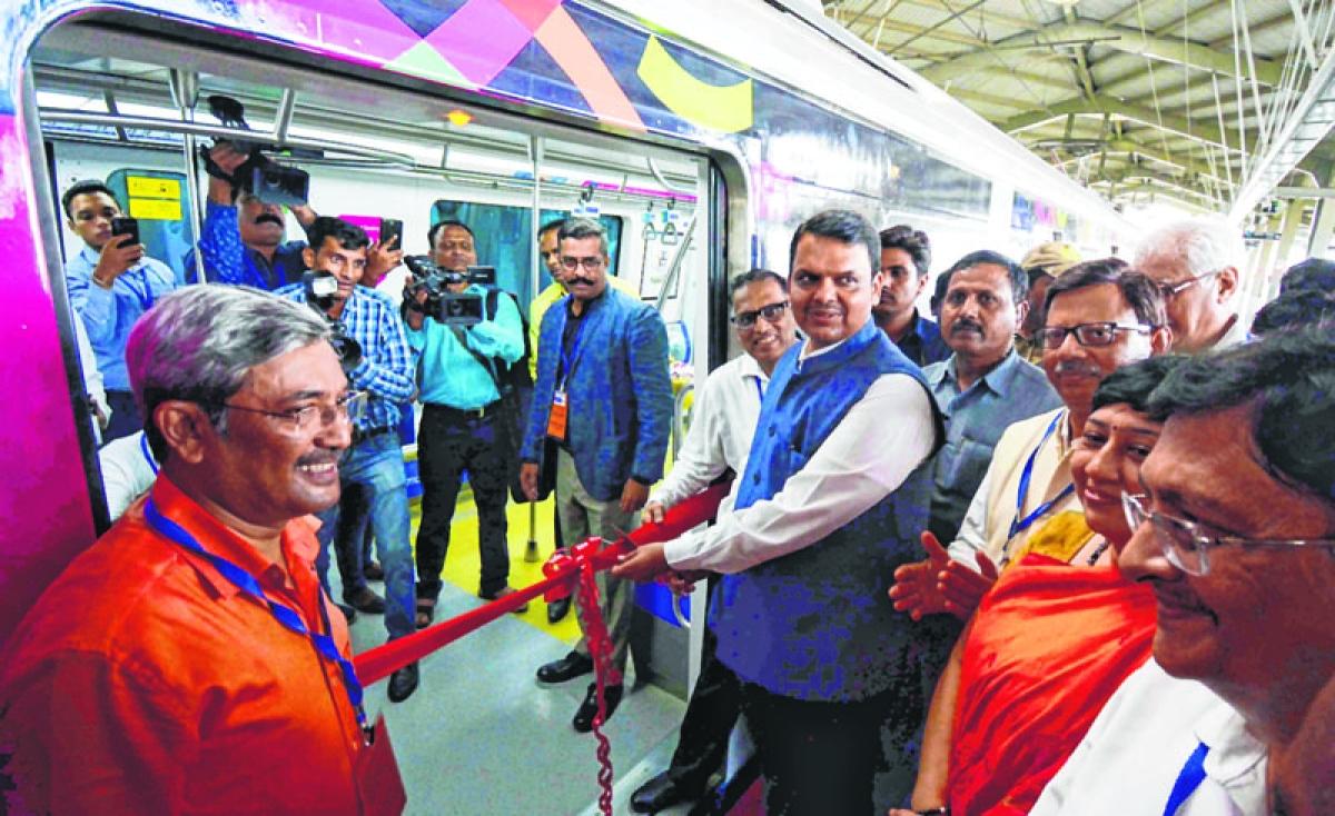 4 years of Mumbai Metro One: CM Devendra Fadnavis inaugurates India's 1st app-based metro ticketing system