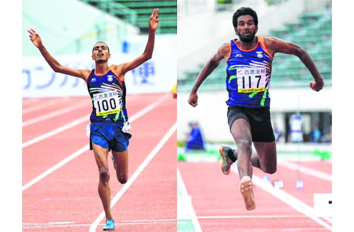 Ajit, Kamalraj win gold medals as India finish third