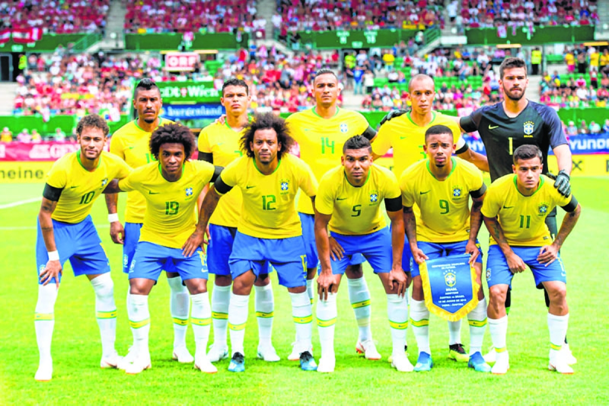 Brazil seeking World Cup redemption