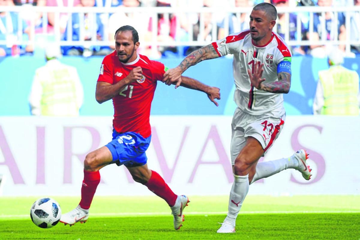 Kolarov's free-kick lifts Serbia to 1-0 win over Costa Rica