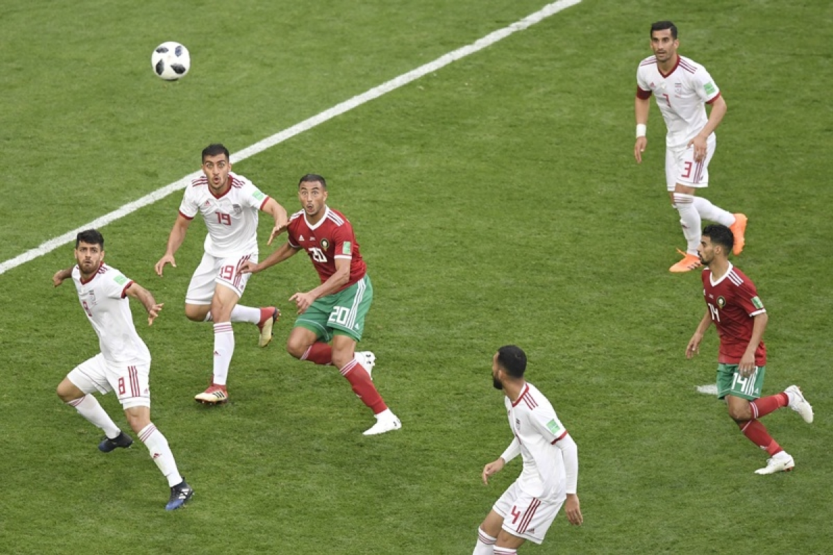 FIFA World Cup 2018: Aziz Bouhaddouz own goal hands Iran late victory over Morocco
