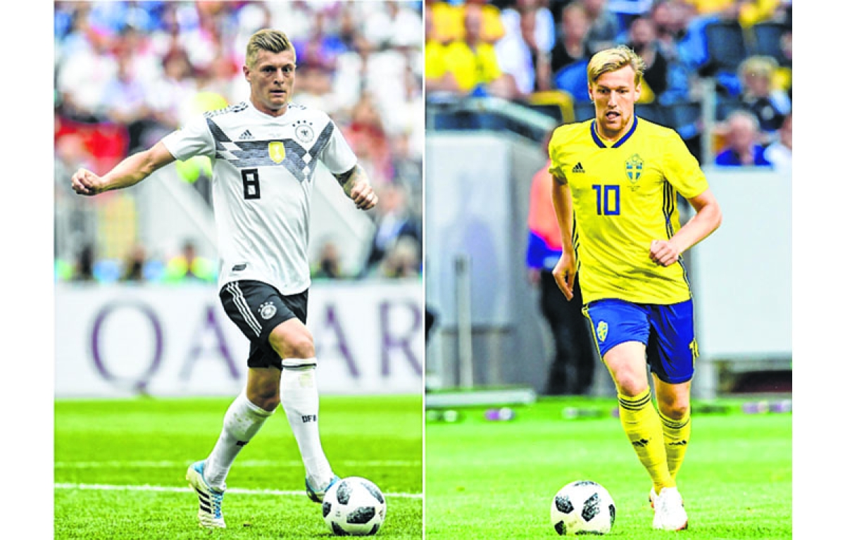 Can Forsberg hurt Germans?