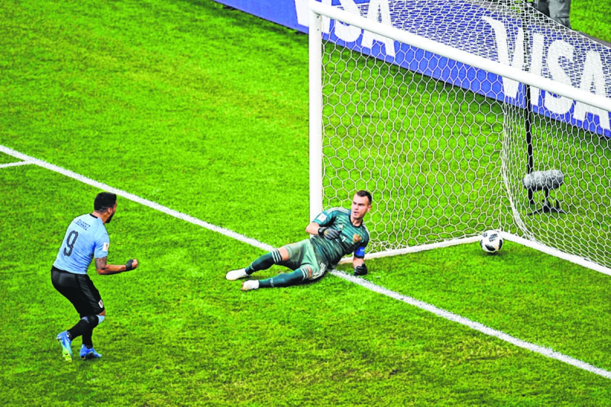 uruguay blow away Russia