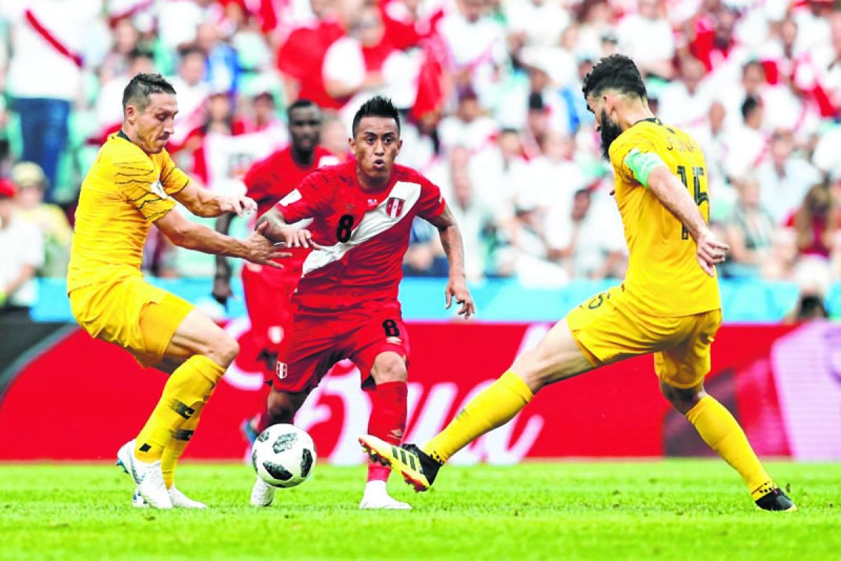Peru break Aussie hearts