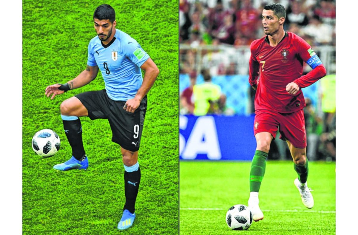 Godin, Uruguay look to stop Ronaldo