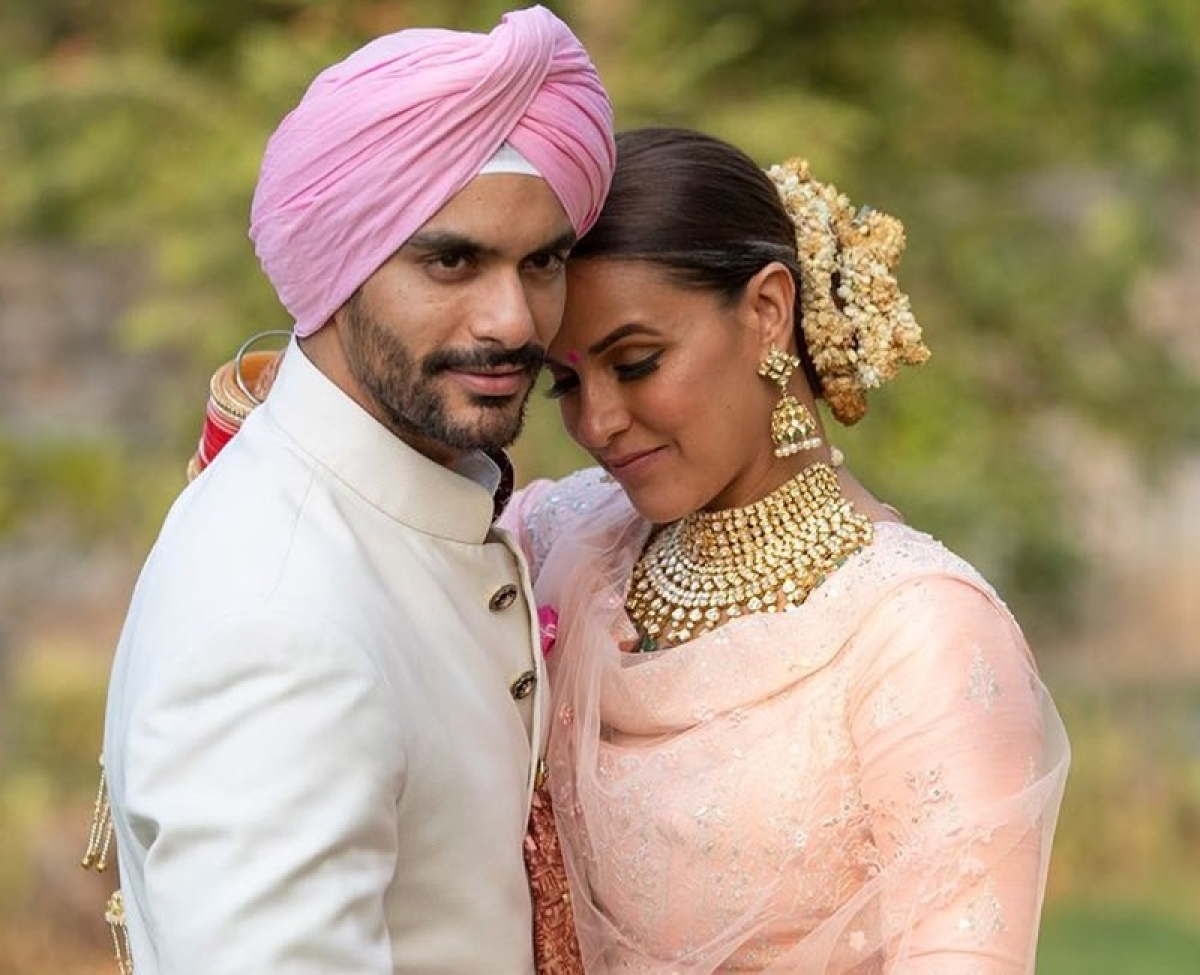 Not wishes, Neha Dhupia received nearly 600 WTF! messages post wedding to Angad Bedi