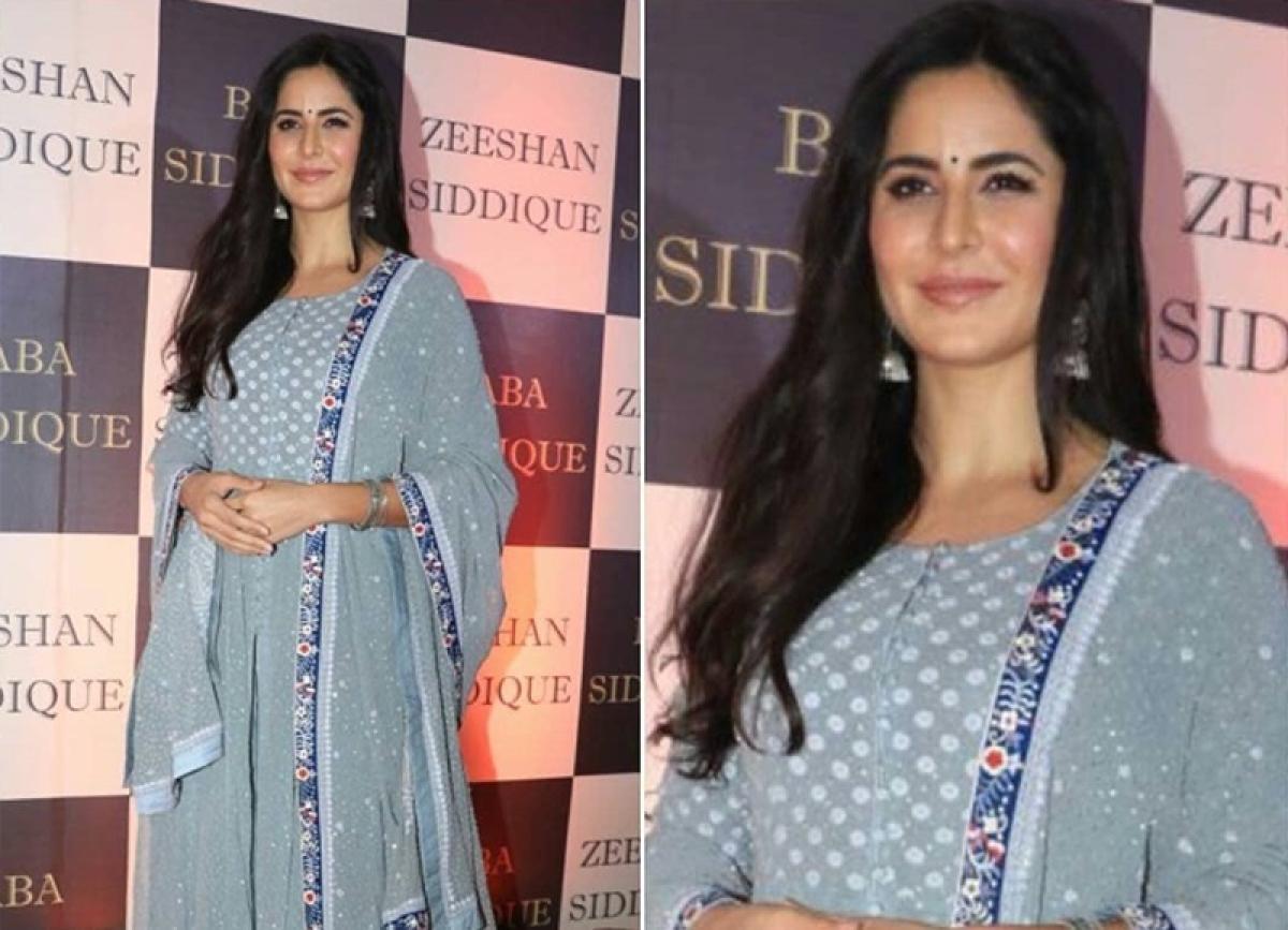 Baba Siddique Iftar party: Katrina Kaif slays it in her gorgeous desi avatar