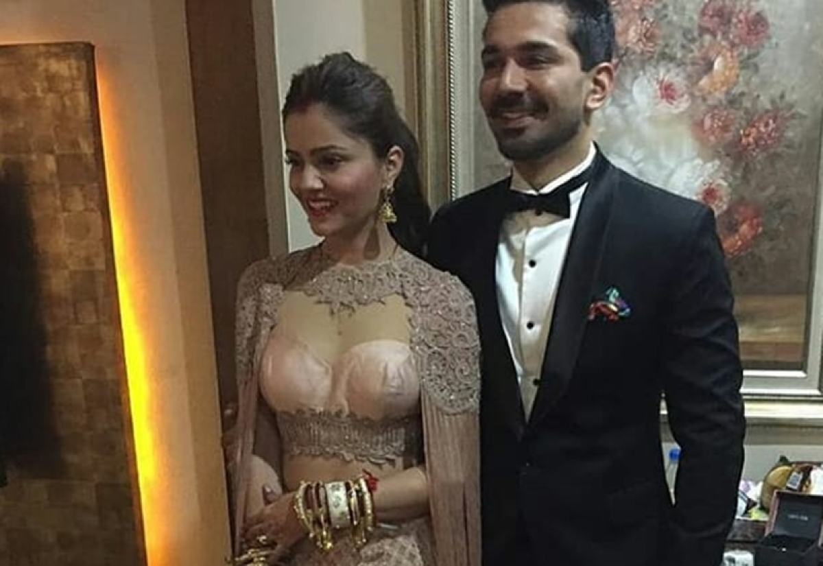 Newlyweds Rubina Dilaik-Abhinav Shukla look stunning at their wedding reception; see pics