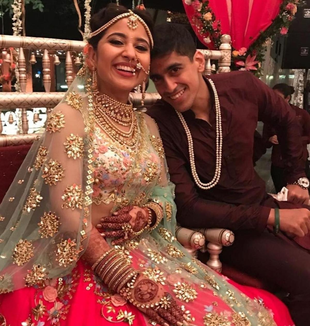 See Pics: Shweta Tripathi and Chaitnya Sharma are the cutest married couple
