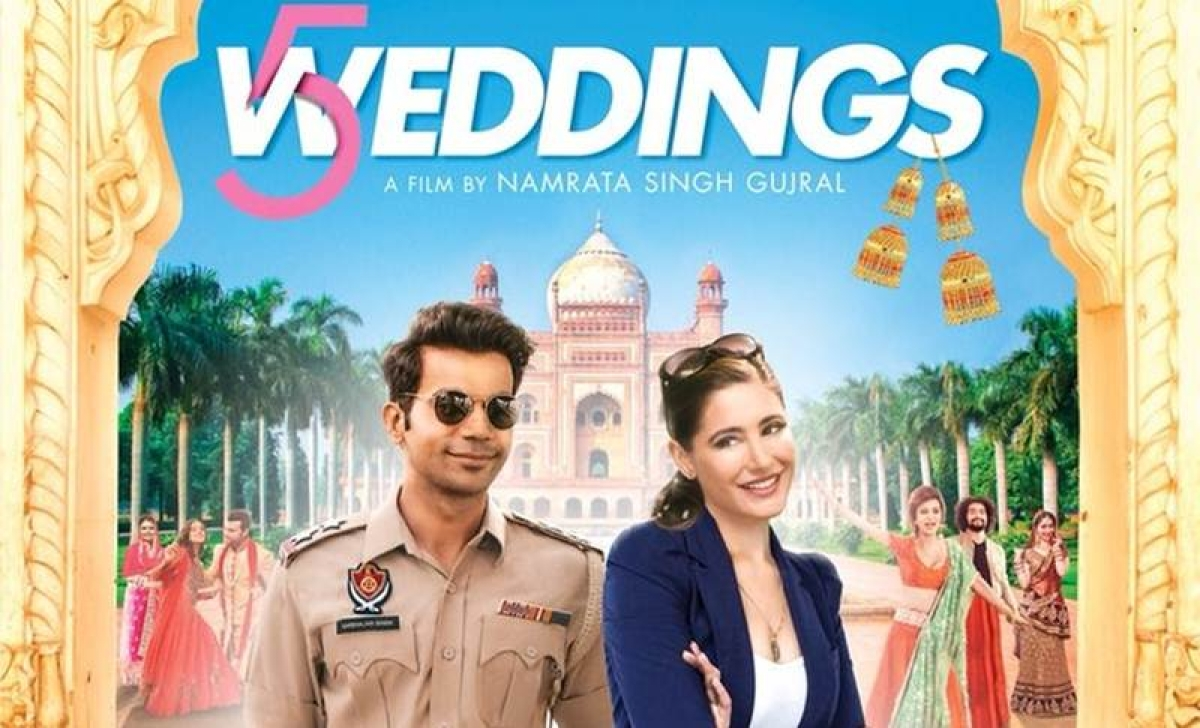 Nargis Fakhri and Rajkumar Rao starrer '5 Weddings' trailer promises to be a fun fusion of cultures