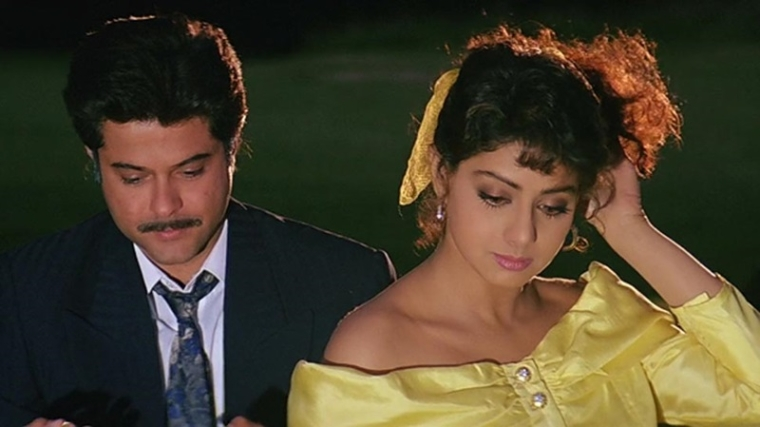 Was Anil Kapoor insecure of being overshadowed by frequent co-star Sridevi?