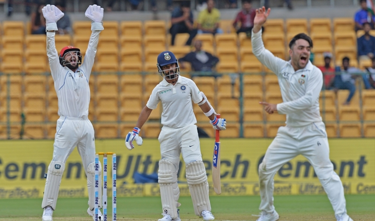 India vs Afghanistan, one-off Test: Visitors fight back after Dhawan & Vijay's ton on Day 1