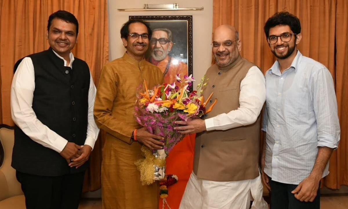 BJP president Amit Shah fails to break the ice, Shiv Sena firm on contesting upcoming elections solo