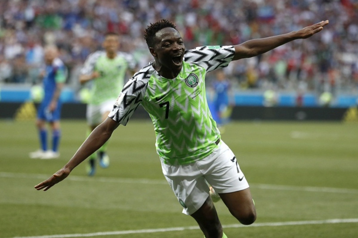 FIFA World Cup 2018: Nigeria beats Iceland by 2-0
