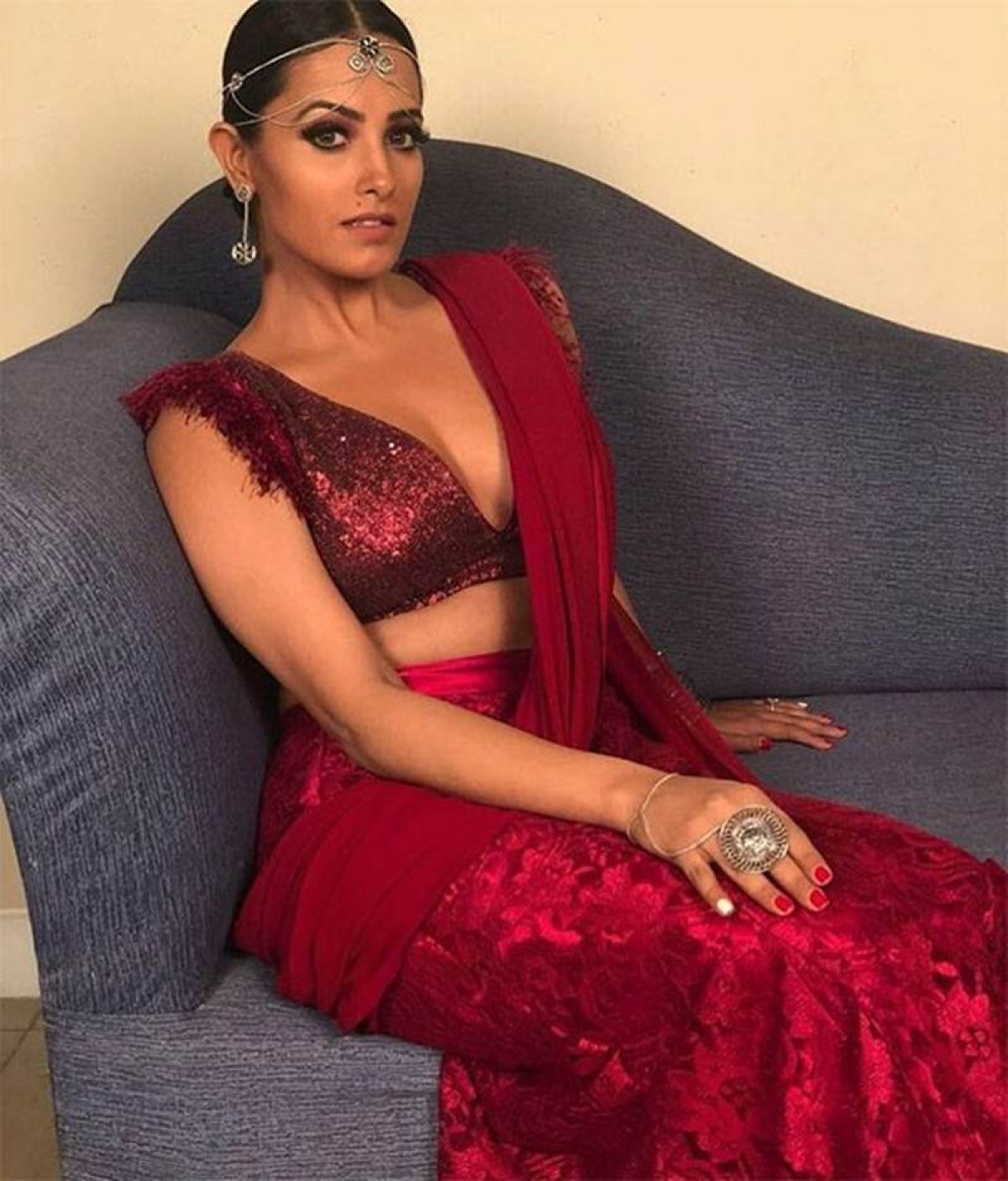 Naagin 3: Anita Hassanandani's look from the set can't be missed