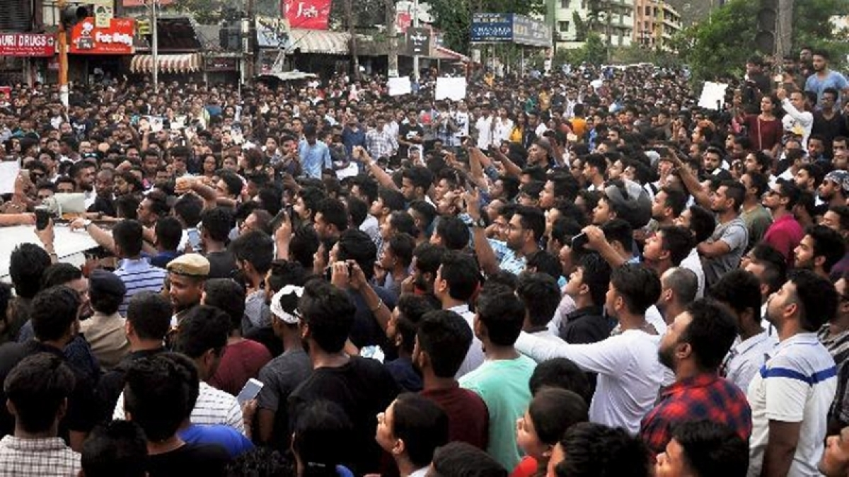 There is anger on the streets  in Assam