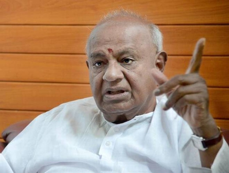 Income Tax Raids fallout: BJP tried persuading Kumaraswamy to form government by offering money,alleges Deve Gowda