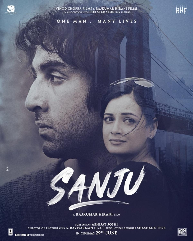 'Sanju' Poster: Here's presenting Dia Mirza's look as Maanayata Dutt; do you like it?
