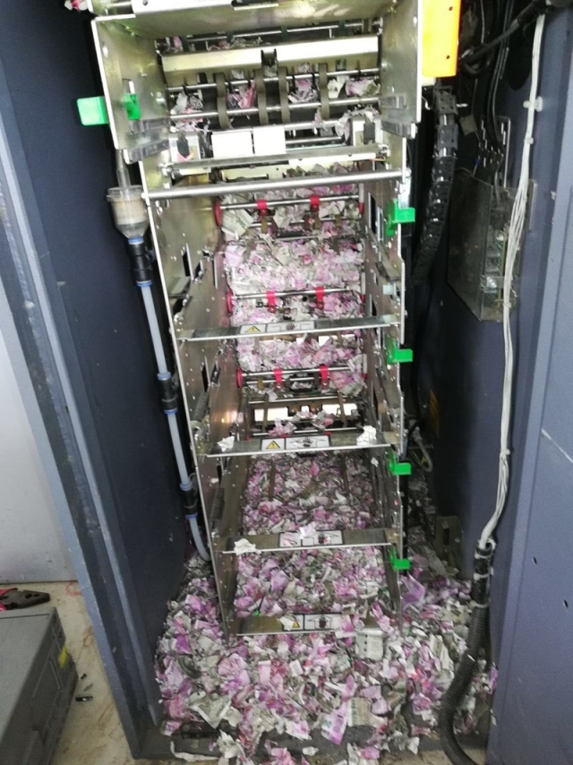 Mice destroyed Rs 12 lakh cash at an ATM machine in Assam?