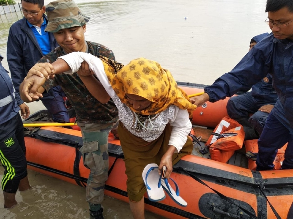 Mizoram flood worsens, 1,066 families evacuated