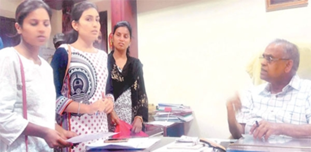 Indore: Errors in CET forms cost students dear