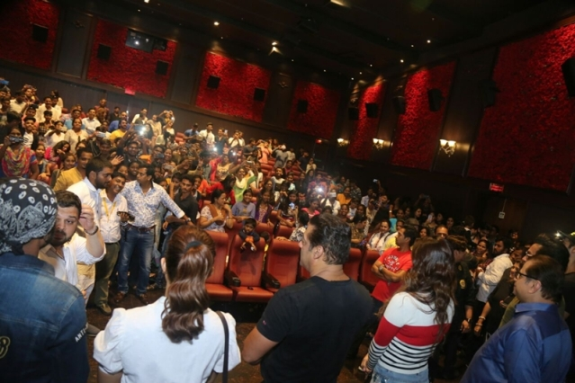 Salman Khan, Jacqueline Fernandez, Bobby Deol and others attend the Race 3 special screening for Aids patients