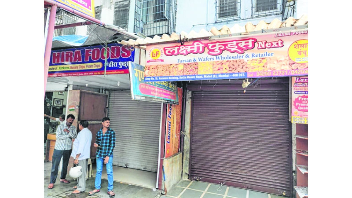 MANY SHOPS STAY shut out of FEAR