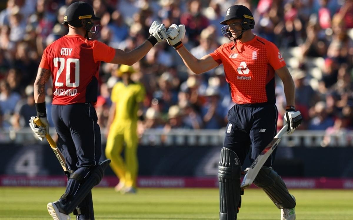 England vs Australia Only T20I: Blistering Jos Buttler leads home side to Edgbaston win