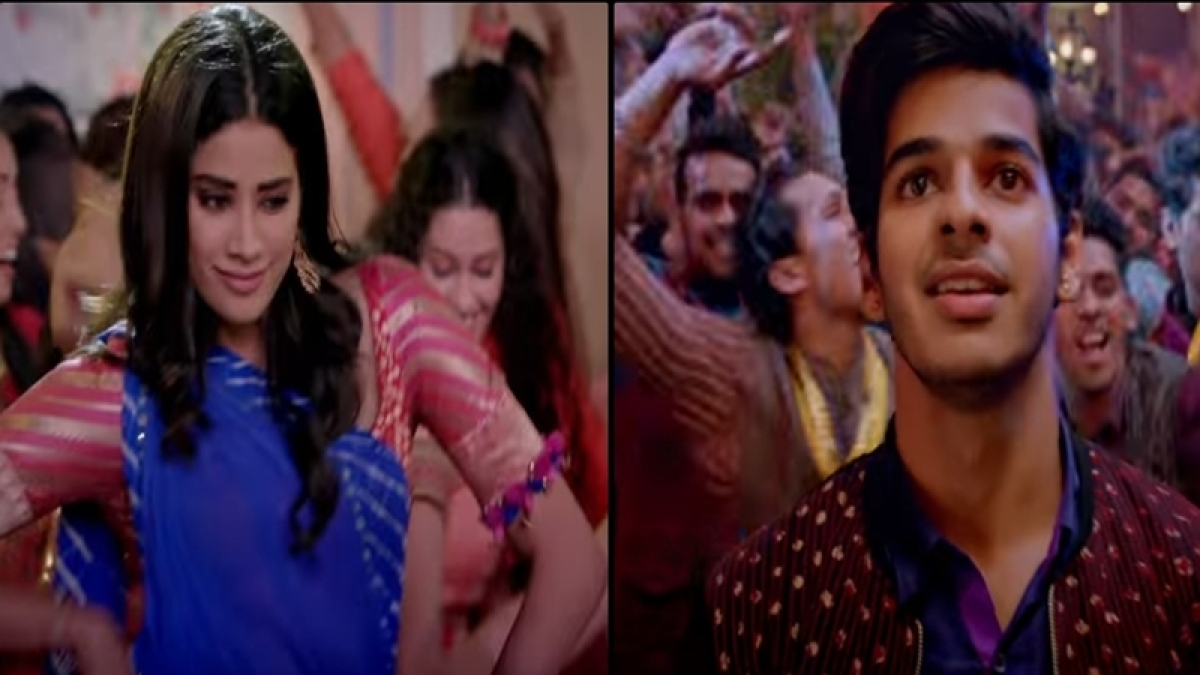 Dhadak song Zingaat: Hindi version of Ishaan Khatter and Janhvi Kapoor's party song is total disappointment