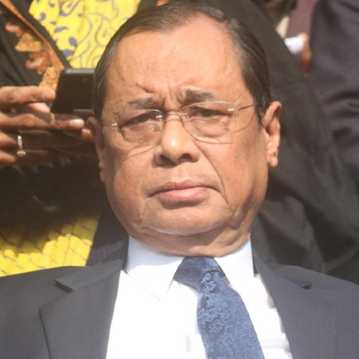 Outgoing CJI Gogoi declines requests for press interviews