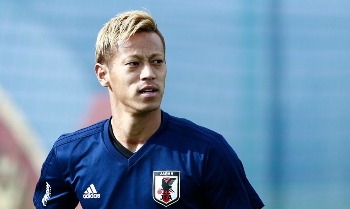 FIFA World Cup 2018: Keisuke Honda embraces 'final' WC with Pele memories still fresh in mind