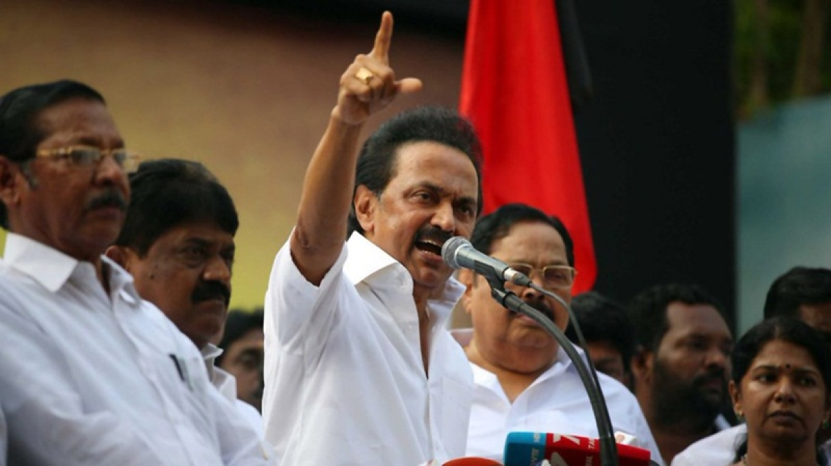 Withdraw case against woman for shouting anti-BJP slogans: M.K. Stalin