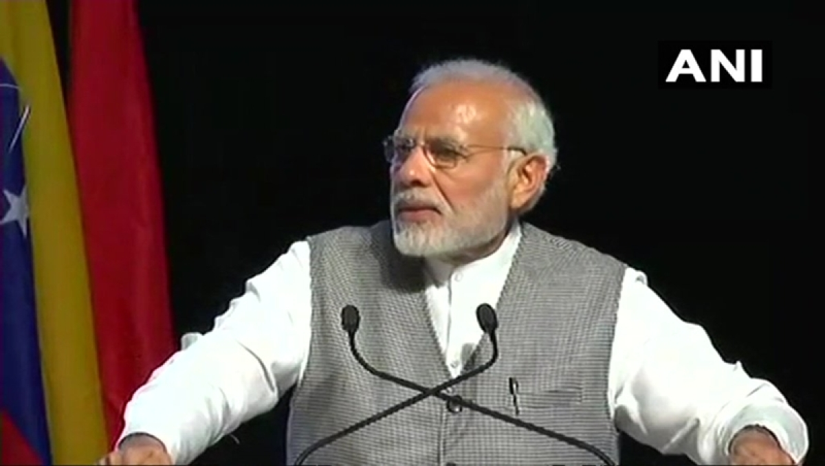 PM Narendra Modi at AIIB event: No spike in inflation due to rising crude prices