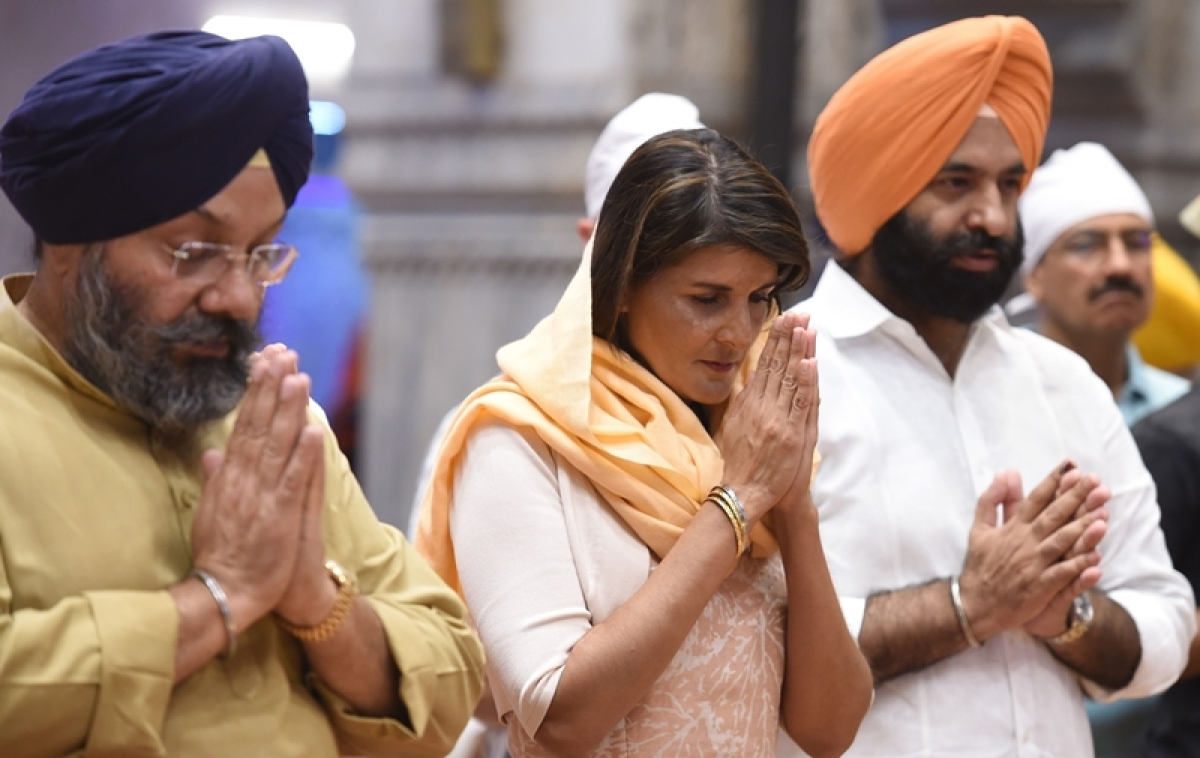 Delhi Sikh gurdwara committee requests Nikki Haley to address issue of 52 Indian asylum-seekers held in US