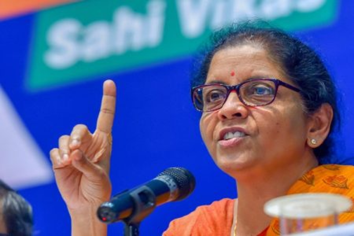 Surgical strikes a message that India will not tolerate terrorists: Nirmala Sitharaman