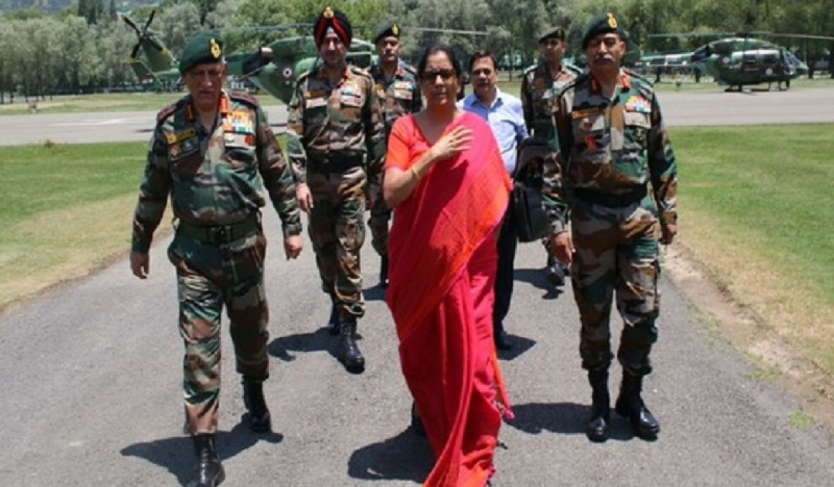 Amarnath Yatra: Nirmala Sitharaman visits Baltal base camp to review security arrangements for pilgrims