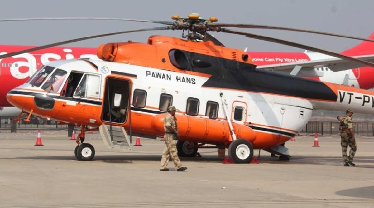 Govt receives bids for Pawan Hans stake sale