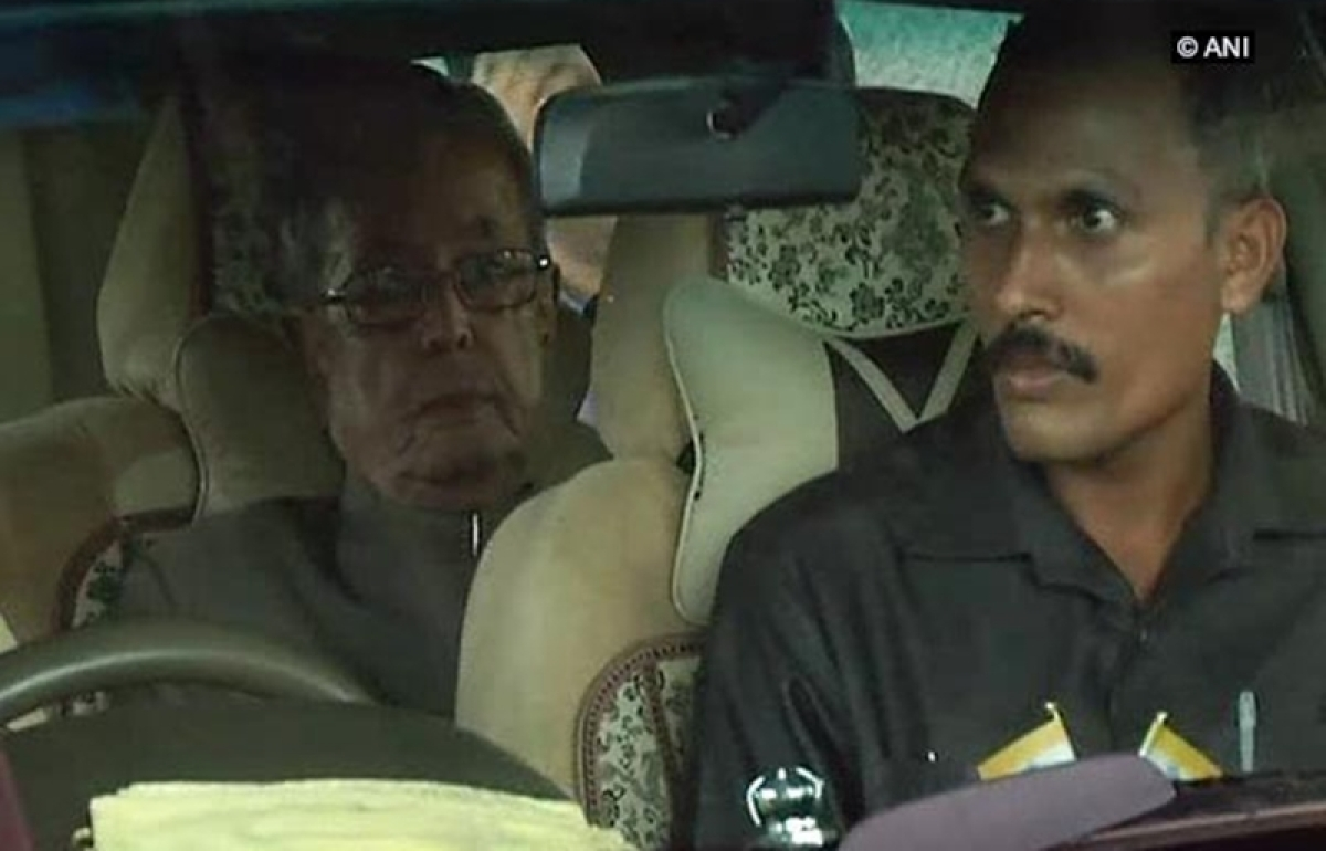 Former President Pranab Mukherjee reaches Nagpur to attend RSS event tomorrow