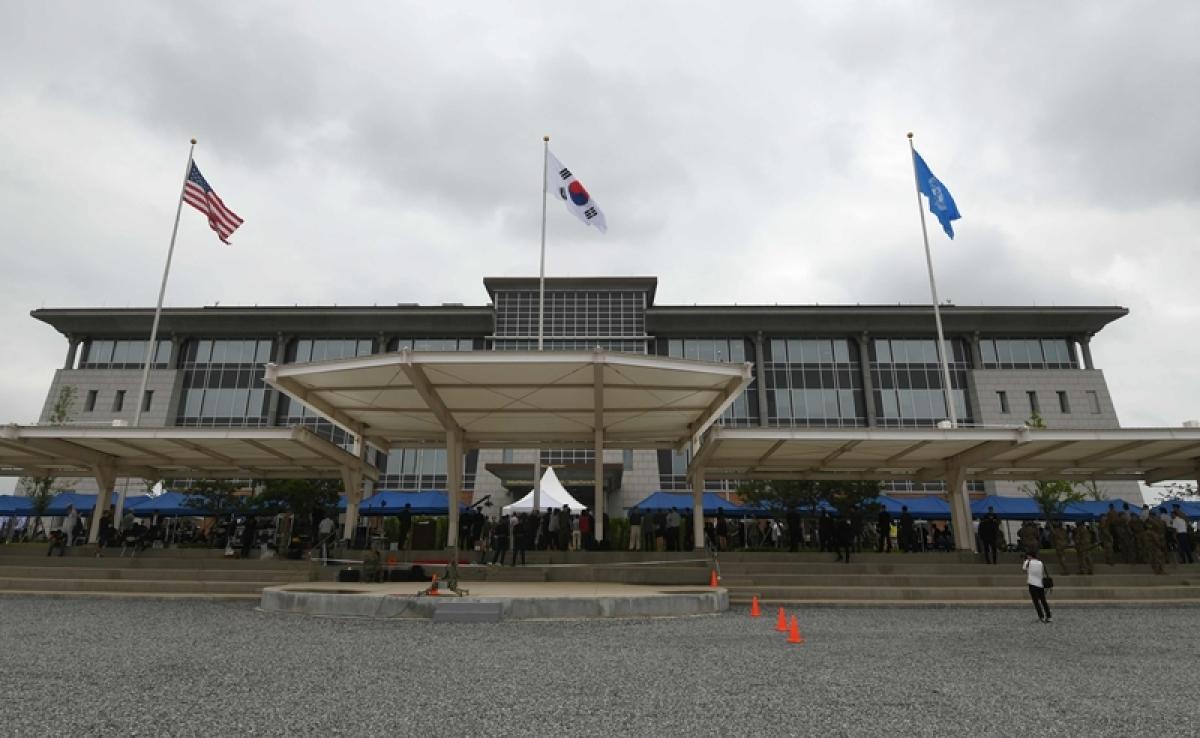 US opens new military headquarters in South Korea's Pyeongtaek