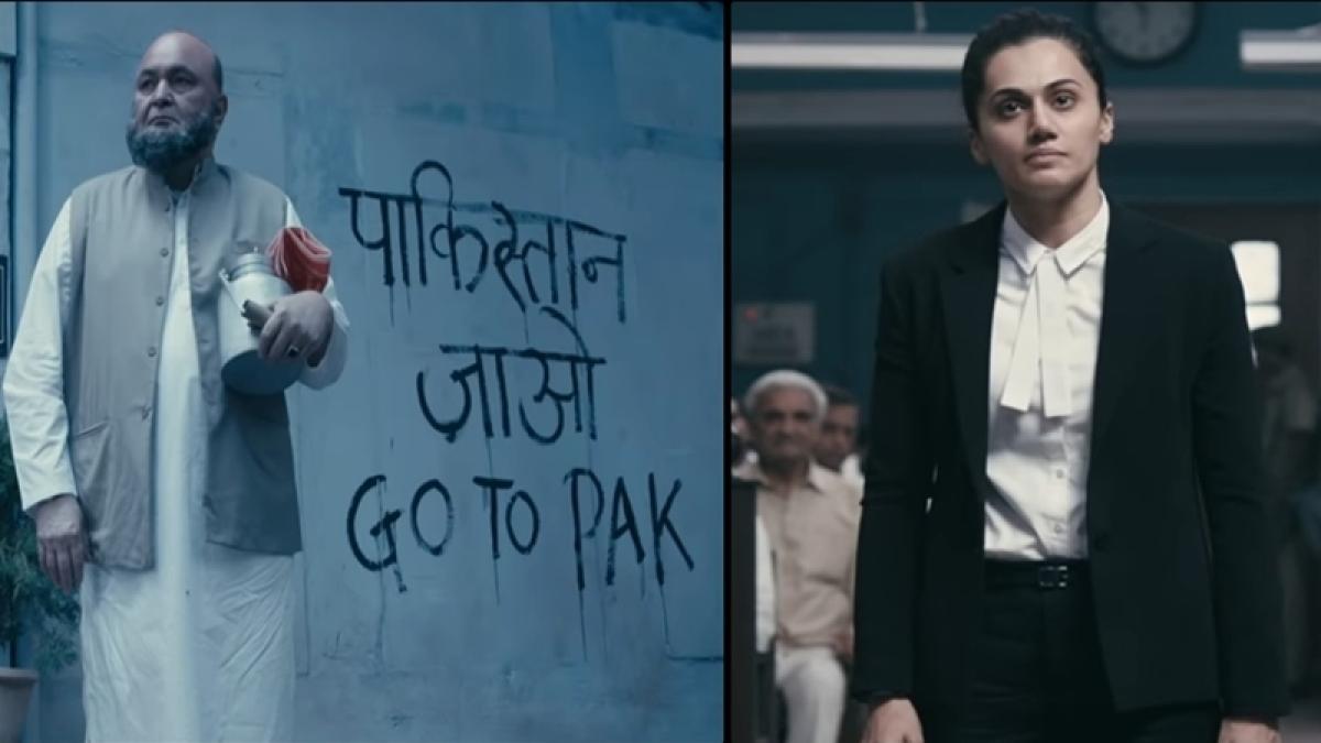 'Mulk' teaser: Rishi Kapoor, Taapsee Pannu's film promises powerful performances