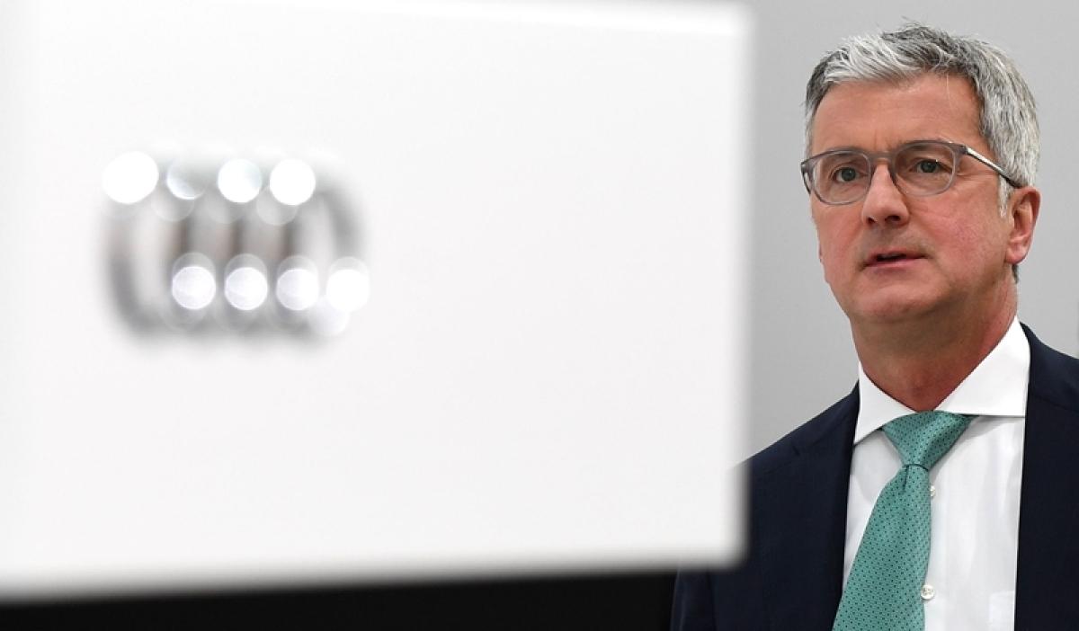 Arrested Audi CEO Stadler steps down
