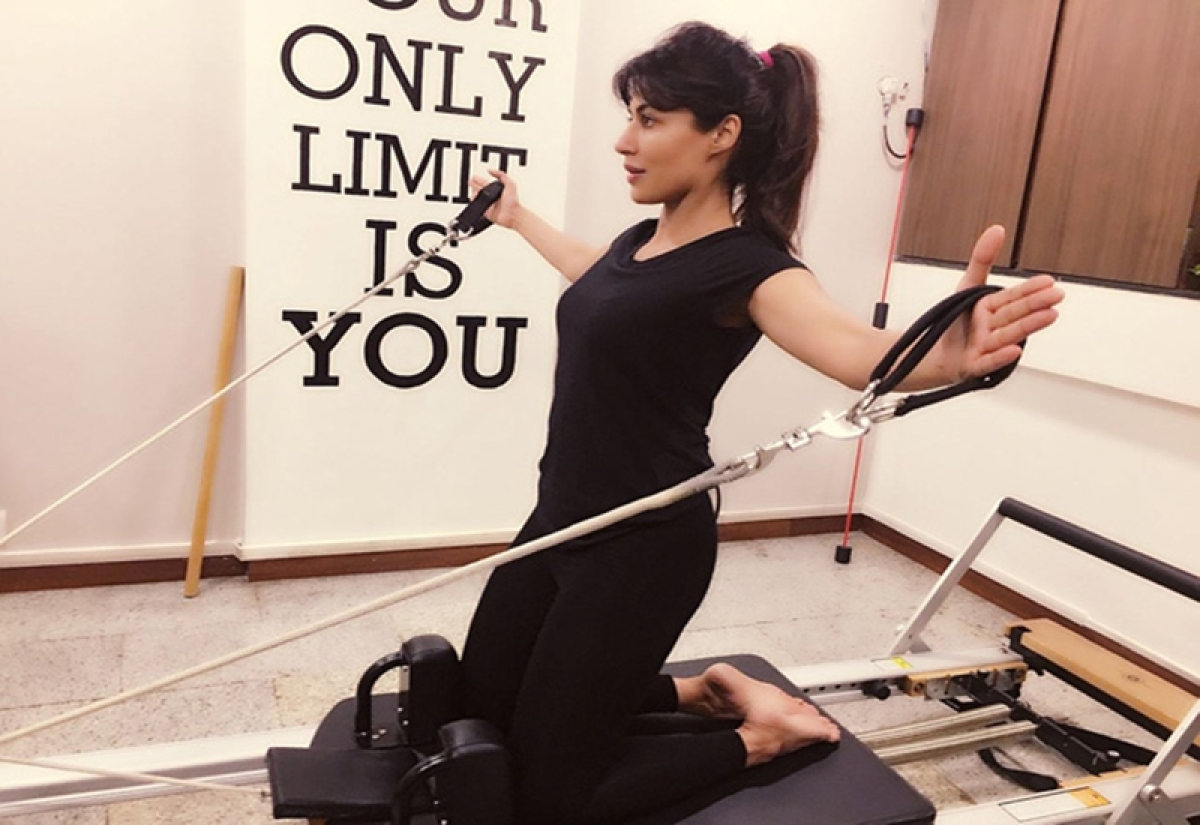'Soorma': Chitrangda Singh resorts to pilates and kickboxing to keep herself fit; see pic